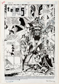 Original Comic Art:Panel Pages, Tom Lyle and Bob Smith Robin III: Cry of the Huntress #2 Story Page 1 Original Art (DC Comics, 1992). ...
