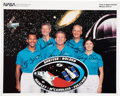 Explorers:Space Exploration, Space Shuttle Discovery (STS-31) Crew-Signed Color Photo Directly from the Personal Collection of Mission Spec...