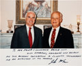 Explorers:Space Exploration, Senator John McCain: Signed Color Photo to His Naval Academy Classmate Bruce McCandless, Directly from the Personal Collection...