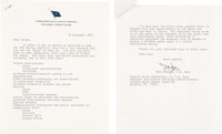 "Bruce McCandless II: Important 1987 Letter Regarding Potential Uses of the Space Shuttles ""During Conflict"" Di..."