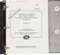 Explorers:Space Exploration, [STS-31] Hubble Telescope Guidebook in Original Binder Directly from the Personal Collection of Mission Specialist Bruce McCan...