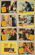 """Movie Posters:Crime, Pickup Alley (Columbia, 1957). Very Fine-. Lobby Card Set of 8 (11"""" X 14""""). Crime.. ... (Total: 8 Items)"""