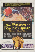 "Movie Posters:Drama, The Rains of Ranchipur & Other Lot (20th Century Fox, 1955). Folded, Fine+. One Sheets (3) (27"" X 41""). Drama.. ... (Total: 3 Items)"