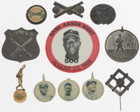 Baseball Pins & Trinket Collection, Lot of 11
