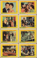 """Movie Posters:Comedy, Houseboat (Paramount, 1958). Fine/Very Fine. Lobby Card Set of 8 (11"""" X 14""""). Comedy.. ... (Total: 8 Items)"""