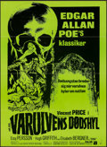 """Movie Posters:Horror, Cry of the Banshee (American International, 1970). Folded, Very Fine-. Danish Poster (24.5"""" X 33.5""""). Horror.. ..."""