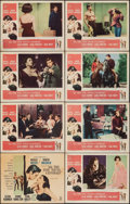 """Movie Posters:Romance, All the Fine Young Cannibals (MGM, 1960). Fine/Very Fine. Lobby Card Set of 8 (11"""" X 14""""). Romance.. ... (Total: 8 Items)"""