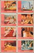 """Movie Posters:Drama, Cleopatra (20th Century Fox, 1963). Overall: Very Fine+. Lobby Card Set of 8 (11"""" X 14"""") Pink Style. Drama.. ... (Total: 8 Items)"""