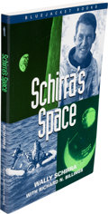 Explorers:Space Exploration, Wally Schirra Signed Book: Schirra's Space....