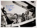 Explorers:Space Exploration, Gordon Cooper Signed Pilot Photo. ...