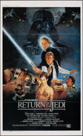 """Movie Posters:Science Fiction, Return of the Jedi (Road Show Magazine, 1983). Folded, Very Fine. Japanese Commercial Poster (21"""" X 33.75"""") DS. Science Fict..."""