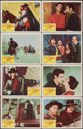 """Movie Posters:Adventure, The Sign of Zorro (Buena Vista, 1960). Very Fine+. Lobby Card Set of 8 (11"""" X 14""""). Adventure.. ... (Total: 8 Items)"""