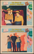 "Movie Posters:Comedy, The World of Abbott and Costello (Universal, 1965). Fine/Very Fine. Lobby Cards (2) (11"" X 14""). Comedy.. ... (Total: 2 Items)"