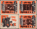"""Movie Posters:Musical, Pick a Star & Other Lot (Astor, R-1954). Fine. Title Lobby Card & Lobby Cards (7) (11"""" X 14""""). Reissue Title: Movie Struck... (Total: 8 Items)"""