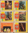 """Movie Posters:Drama, The Greatest Show on Earth (Paramount, 1952/R-1960). Fine/Very Fine. Lobby Cards (6) (11"""" X 14""""). Drama.. ... (Total: 6 Items)"""