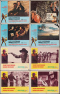 "Movie Posters:Western, Hang 'Em High & Other Lot (United Artists, 1968). Fine+. Lobby Cards (8) (11"" X 14""). Western.. ... (Total: 8 Items)"