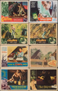 """Movie Posters:Science Fiction, The Amazing Colossal Man & Other Lot (American International, 1957). Fine+. Lobby Cards (6) (11"""" X 14"""") & Trimmed Lobby Card... (Total: 8 Items)"""