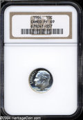 Proof Roosevelt Dimes: , 1964 PR 69 Cameo NGC. ...