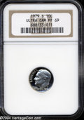 Proof Roosevelt Dimes: , 1979-S Type One PR 69 Deep Cameo NGC. ...