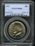 Kennedy Half Dollars: , 1973 MS66 PCGS. ...