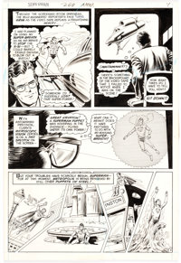 Curt Swan and Murphy Anderson Superman #269 Story Page 7 Original Art (DC, 1973)