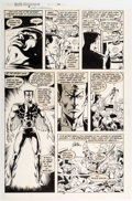 Original Comic Art:Panel Pages, Rich Buckler and Bob McLeod Saga of the Sub-Mariner #11 Story Page 20 Original Art (Marvel Comics, 1989). ...