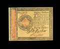 Continental Currency January 14, 1779 $80 Choice About New