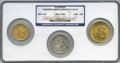 Liberty Double Eagles, 1847-1861 MS Three-Piece S.S. Republic Half Dollar, Eagle, and Double Eagle Set, Founders Limited Edition #41 of ... (Total: 3 coins)