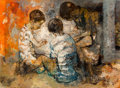 Paintings, Jean Jansem (1920-2013). Untitled (Three Children), circa 1960. Oil on canvas. 24 x 32 inches (61.0 x 81.3 cm). Signed l...