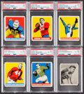 Football Cards:Lots, 1948 Bowman and Leaf Football Collection (24). ...