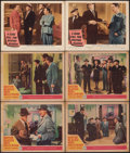 """Movie Posters:Crime, Boston Blackie Goes Hollywood & Other Lot (Columbia, 1942). Fine-. Lobby Cards (11) (11"""" X 14""""). Crime.. ... (Total: 11 Items)"""