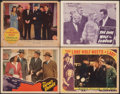 """Movie Posters:Mystery, The Falcon's Brother & Other Lot (RKO, 1942). Fine+. Lobby Cards (4) (11"""" X 14""""). Mystery.. ... (Total: 4 Items)"""