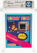 Video Games:Other, Donkey Kong - Wata 8.0 NS [1982], INTV Coleco 1982 USA....
