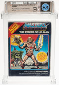 Video Games:Other, Masters of the Universe: The Power of He-Man - Wata 6.0 A+ Sealed, INTV Mattel 1983 USA....