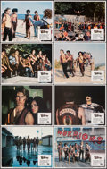 """Movie Posters:Action, The Warriors (Paramount, 1979). Very Fine/Near Mint. Lobby Card Set of 8 (11"""" X 14""""). Action.. ... (Total: 8 Items)"""