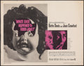 """Movie Posters:Horror, What Ever Happened to Baby Jane? (Warner Bros., 1962). Rolled, Fine. Half Sheet (22"""" X 28""""). Horror.. ..."""