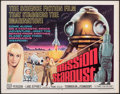 """Movie Posters:Science Fiction, Mission Stardust (Times, 1968). Rolled, Fine/Very Fine. Half Sheet (22"""" X 28""""). Science Fiction.. ..."""