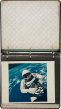 "Explorers:Space Exploration, Gemini Missions: Group of Fifteen Original NASA ""Red Number"" Color Photos in Original Binder. ..."