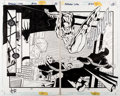 Original Comic Art:Panel Pages, Anthony Williams and Andy Lanning Batman: Legends of the Dark Knight #97 Splash Pages 14 and 15 Original Art (DC C... (Total: 2 Original Art)