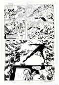 Original Comic Art:Panel Pages, Sal Velluto and Mark McKenna Firebrand #8 Story Page 8 Original Art (DC, 1996)....