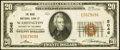 Washington, DC - $20 1929 Ty. 1 The Riggs National Bank Ch. # 5046 Very Fine