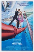 "Movie Posters:James Bond, A View to a Kill (United Artists, 1985). Rolled, Very Fine+. One Sheet (27"" X 41"") SS Style B. Dan Gouzee Artwork. James Bon..."