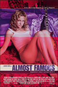Movie Posters:Drama, Almost Famous (Columbia TriStar International/DreamWorks, 2000). Rolled, Very Fine+. International One Sheet & One Sheet (26... (Total: 2 Items)