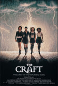 "Movie Posters:Horror, The Craft & Other Lot (Columbia, 1996). Rolled, Very Fine+. One Sheets (2) (26.75"" X 39.75"" & 27"" X 40"") DS. Horror.. ... (Total: 2 Items)"