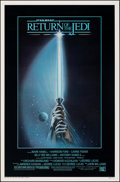 """Movie Posters:Science Fiction, Return of the Jedi (20th Century Fox, 1983). Rolled, Very Fine. One Sheet (27"""" X 41"""") Style A. Tim Reamer Artwork. Science F..."""