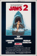 "Movie Posters:Horror, Jaws 2 (Universal, 1978). Flat Folded, Very Fine+. One Sheet (27"" X 41""). Lou Feck Artwork. Horror.. ..."