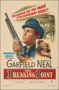 """Movie Posters:Crime, The Breaking Point (Warner Bros., 1950). Folded, Fine/Very Fine. One Sheet (27"""" X 41""""). Crime.. ..."""