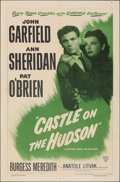 "Movie Posters:Crime, Castle on the Hudson (Warner Bros., R-1949). Folded, Fine/Very Fine. One Sheet (27"" X 41""). Crime.. ..."
