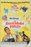 """Movie Posters:Comedy, The Absent-Minded Professor & Other Lot (Buena Vista, R-1974). Folded, Fine/Very Fine. One Sheets (2) (27"""" X 41""""). Paul Wenz... (Total: 2 Items)"""