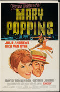 "Movie Posters:Fantasy, Mary Poppins (Buena Vista, R-1973). Folded, Fine+. One Sheet (27"" X 41"") Style A, Paul Wenzel Artwork. Fantasy.. ..."